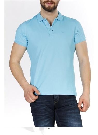 Cazador Cazador Erkek Polo Yaka T Shirt 4613 Mavi